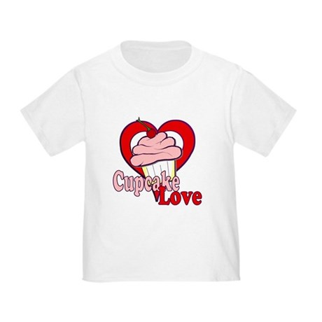 Cupcake Love Toddler T-Shirt