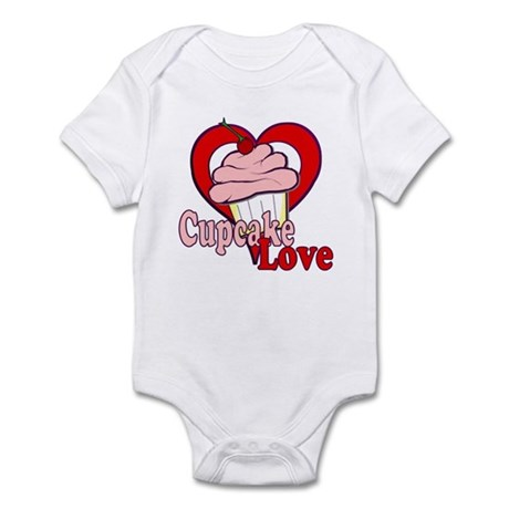 Cupcake Love Infant Bodysuit