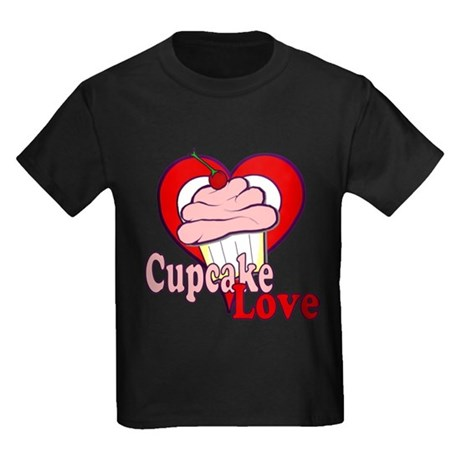 Cupcake Love Kids Dark T-Shirt