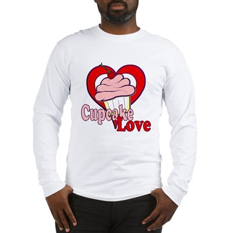 Cupcake Love Long Sleeve T-Shirt
