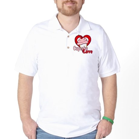 Cupcake Love Golf Shirt