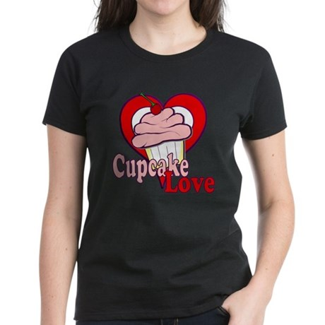 Cupcake Love Women's Dark T-Shirt