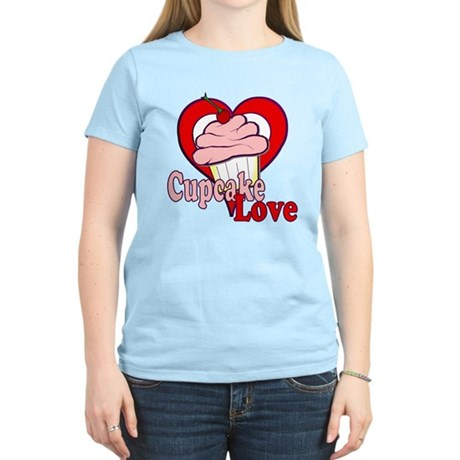 Cupcake Love Women's Light T-Shirt