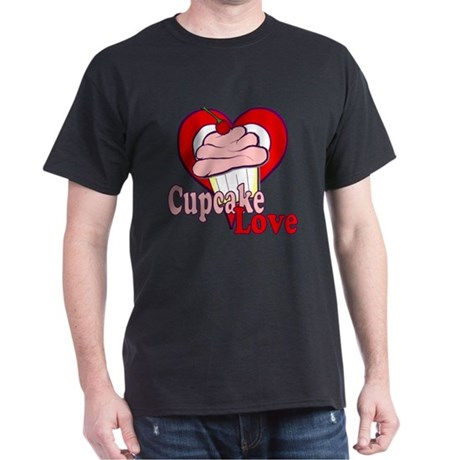 Cupcake Love Dark T-Shirt