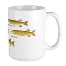 Large Pike and Predators mug