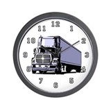 Truck Driver Wall Clock