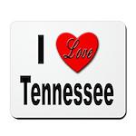 I Love Tennessee Mousepad
