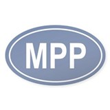 MPP Oval Decal