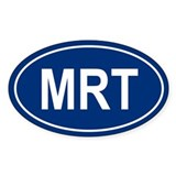 MRT Oval Decal