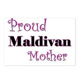 Proud Maldivan Mother Postcards (Package of 8)