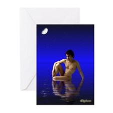 Moondream by Rippleman Greeting Cards (Pk of 20)
