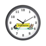 Veterinarian Wall Clock