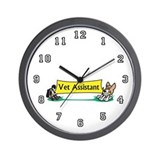 Veterinarian Assistant Wall Clock