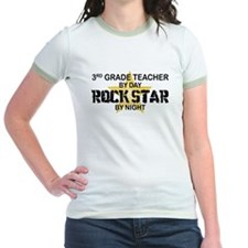 3rd Grade Teacher Rock Star T
