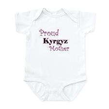 Proud Kyrgyz Mother Infant Bodysuit