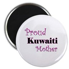 "Proud Kuwaiti Mother 2.25"" Magnet (10 pack)"