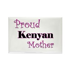 Proud Kenyan Mother Rectangle Magnet
