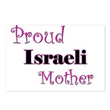 Proud Israeli Mother Postcards (Package of 8)