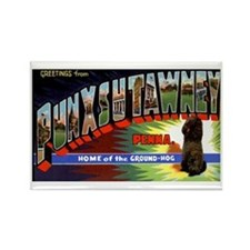 Punxsutawney Pennsylvania Groundhogs Day Rectangle