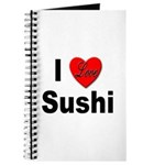 I Love Sushi for Sushi Lovers Journal