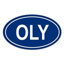 OLY Oval Decal