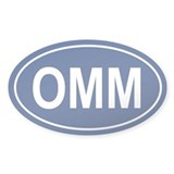 OMM Oval Decal