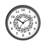 Musician Wall Clock