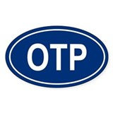 OTP Oval Decal