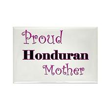 Proud Honduran Mother Rectangle Magnet