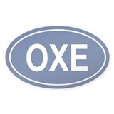OXE Oval Decal