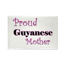 Proud Guyanese Mother Rectangle Magnet