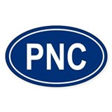 PNC Oval Decal