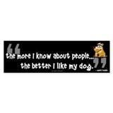 My Dog... Bumper Bumper Sticker