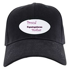 Proud Equatoguinean Mother Baseball Hat