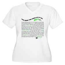You know you grew up in the 80's if... T-Shirt