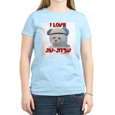 I LOVE JIU-JITSU (TEDDY BEAR) T-Shirt