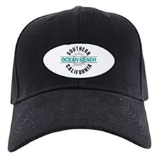 Ocean Beach California Baseball Hat