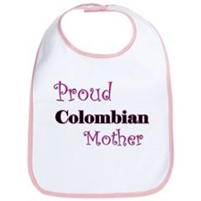 Proud Colombian Mother Bib
