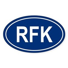 RFK Oval Decal
