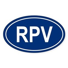 RPV Oval Decal
