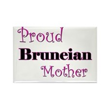 Proud Bruneian Mother Rectangle Magnet (10 pack)