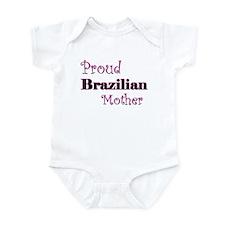 Proud Brazilian Mother Infant Bodysuit