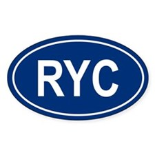 RYC Oval Decal