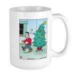 Water Me Christmas Tree Large Mug