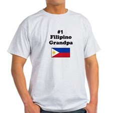 #1 Filipino Grandpa T-Shirt