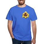 Peach Double Daylily Dark T-Shirt