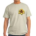 Peach Double Daylily Light T-Shirt