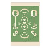 Crop Circle: Key To Abundance Postcards (Package o