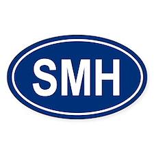 SMH Oval Decal