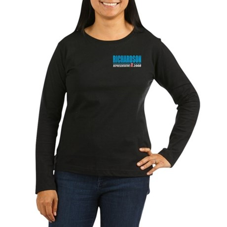 Richardson 2008 Women's Long Sleeve Dark T-Shirt